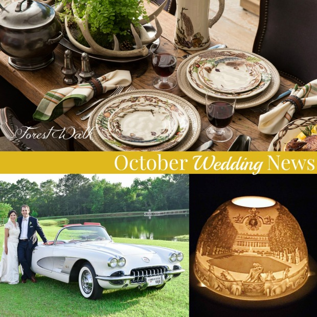 October Wedding News